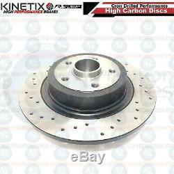 For Renault Clio 197 200 Sport Front Rear Drilled Discs Abs Ring Bearing Pads