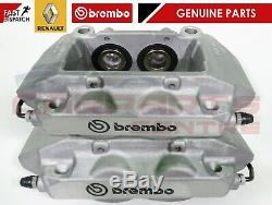 For Renault Clio Sport 197 200 Megane Sport Rs 225 230 Front Brake Calipers Grey