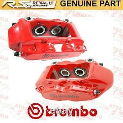 For Renault Clio Sport 197 200 Megane Sport Rs 225 230 Front Brake Calipers Red