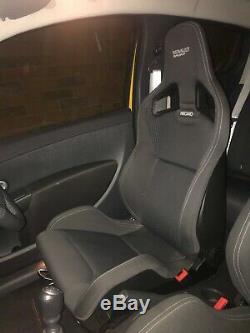 GENUINE Recaro Renault Sport Clio RS 200 Pair Front Seats