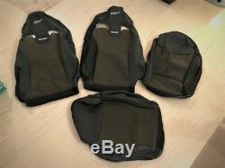 Genuine Set Recaro Seat Fabric Cloth Covers Renault Sport Megane, Clio RS