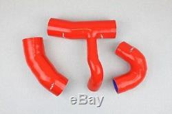 Kit 3 durites silicone Clio 3 III RS 197 203 Renault Sport Tubo Manguera Rouge