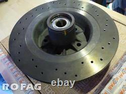 New GENUINE RENAULT SPORT Clio III RS 197 200 CUP rear DRILLED brake disc Brembo