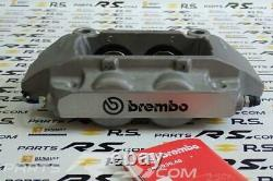 New GENUINE Renault Sport Clio III 3 RS 197 200 pair brembo calipers front GREY
