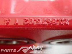 New GENUINE Renault Sport Clio III 3 RS 197 200 pair brembo calipers front RED
