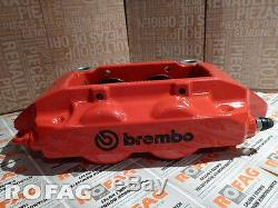 New GENUINE Renault Sport Clio III RS 197 & 200 brembo caliper front RED CUP