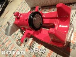 New GENUINE RenaultSport Clio III 3 RS 197 200 trw caliper rear RED CUP brembo