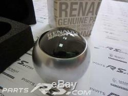 New GENUINE RenaultSport Clio IV Sport edc RS RENAULT SPORT Gear Knob alloy