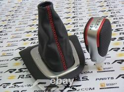 New Genuine RENAULT SPORT Clio IV RS edc gear knob lever gaiter TROPHY ph1 ph2