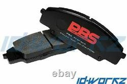PBS ProRace Front Brake Pads for Renault Clio Sport RS 172 182