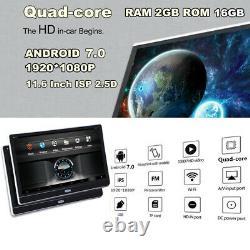 Pair 11.6 Android 7.0 RAM 2GB ROM 16GB Quad-core Car Headrest Monitor BT