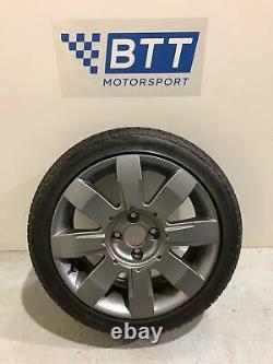 RENAULT CLIO SPORT MK2 (01-06) 172 182 X4 Alloy Wheels & Tyres 205 45 16 GREY