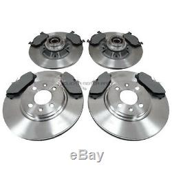Renault Clio 172 182 Cup Sport Front & Rear Brake Discs Pads Bearings Abs Rings
