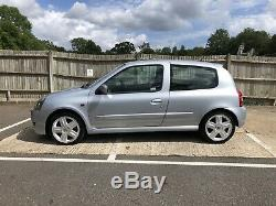 Renault Clio 172 Sport Iceberg Silver 84K 2 Owner