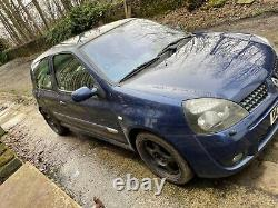 Renault Clio 172 Sport Monaco Blue Original Condition Full Service History 118k