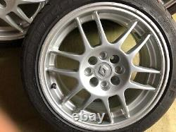 Renault Clio 172 sport 1997 alloys wheels 7j x 15 & GF Goodrich 195 -45R 15