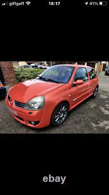 Renault Clio 182 sport not 172