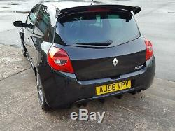 Renault Clio 197 Sport Black Cup Chassis Vvt Coil Overs Exhaust Remap Bushes