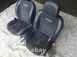 Renault Clio 2001-2006 Half Leather Clio Sport Interior Pair Front Seats PICS