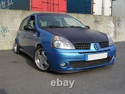 Renault Clio MK2 MK3 3 Front Bumper Cup Chin Spoiler Lip Sport Valance Splitter