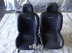 Renault Clio Sport 172 182 2000-2005 Complete Half Leather Interior Alcantara
