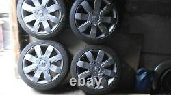 Renault Clio Sport 172 &182 Wheels Set Of 5 With Locking Nuts