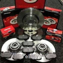 Renault Clio Sport 172 Cup Mintex Front Rear Brake Pads Discs Bearing Abs Ring