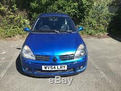 Renault Clio Sport 182 16v Blue