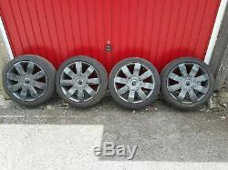 Renault Clio Sport 182 2.0 16 4x100 anthracite Alloy Wheels Alloys