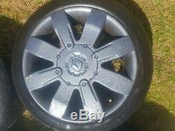 Renault Clio Sport 182 Cup 2.0 16 4x100 anthracite Alloy Wheels Alloys +Tyres 9