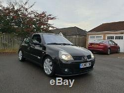 Renault Clio Sport 182 Cup Black Gold Cup Packs 60k Miles Immaculate