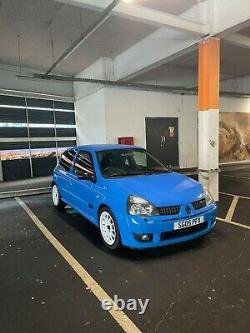 Renault Clio Sport 182 Cup Racing Blue