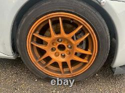 Renault Clio Sport 182 Oz F1 Alloy Wheels 15 Inch With AD08Rs Tyres
