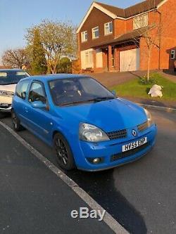 Renault Clio Sport 182 Racing Blue not 172