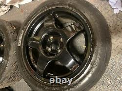 Renault Clio Sport 182 Team Dynamics Pro Race 3s 15 Inch With 6mm Nankang Ns2r