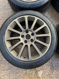 Renault Clio Sport 197 200 R27 17 Alloy Wheels & Michelin Pilot Sport 4 Tyres