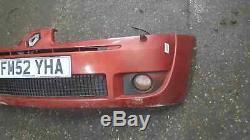 Renault Clio Sport MK2 2001-2006 172 182 Front Bumper Red Orange TEB76