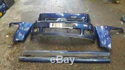 Renault Clio Sport MK2 2001-2006 172 Body Kit Bumpers Wing Skirts Blue 432