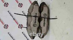 Renault Clio Sport MK3 2005-2012 197 200 Front Brake Calipers Pair Silver