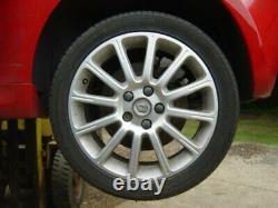 Renault Clio Sport RS 197 17 Silver Alloy Wheels GENUINE ORIGINAL EXCELLENT