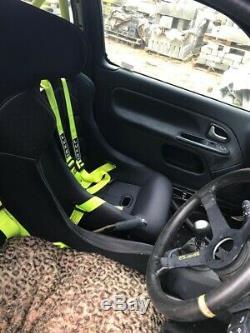 Renault Clio Sport Rally Car