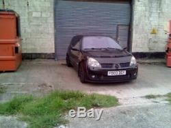 Renault Clio sport 172 spares or repairs