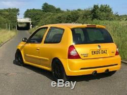 Renault Clio sport 182 liquid yellow