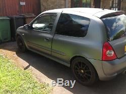 Renault Clios Sport 172/182