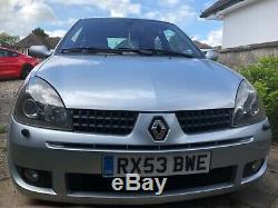 Renault Renaultsport Clio 172 Sport 16v Very Nice Example