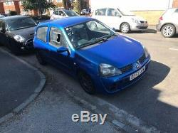 Renault Sport Clio 172 Cup Track Car
