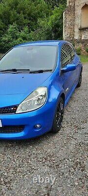 Renault Sport Clio 197 2008 Albi Blue New MOT 127,000 miles