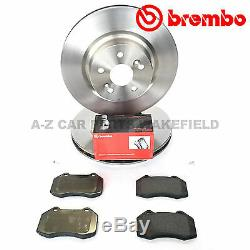 Renault Sport Megane 225 230 F1 Cup Clio 197 200 Front Brembo Brake Discs Pads