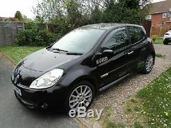 Renault clio 197 sport black petrol 57 reg