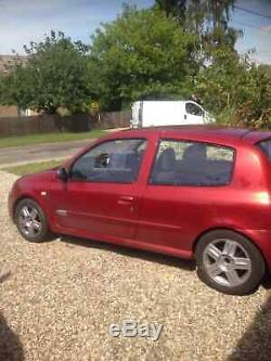 Renault clio 2003 mk ii 2.0 16v sport track car project